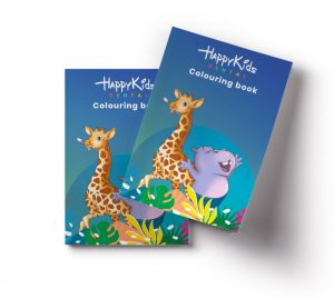 Happy Kids Dental Colouring Book